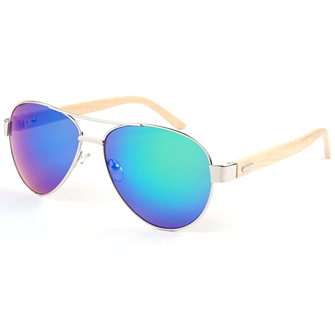 My. Mono Madera Natural Fashion Classic - Gafas de sol ...