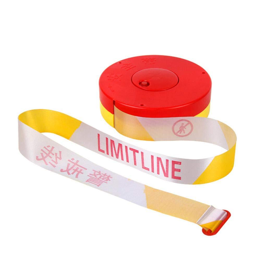Premium Hazard Warning Tape 100m Red /& White /& Yellow Barrier Tape Crowd Control Barrier Traffic Safety Sign