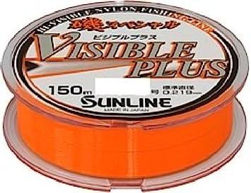 サンライン(SUNLINE)ナイロンライン磯スペシャルビジブルプラスHG150m3号パッションオレンジの画像