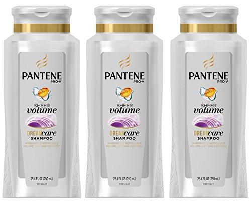 pantene-pro-v-sheer-volume-shampoo-254-fluid-ounce-pack-of-3