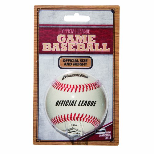 Franklin Little League Baseball (Franklin Sports Official League Leather Game Baseball)