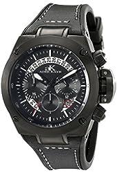 Adee Kaye Men's AK6368-GBK Phantom Analog Display Japanese Quartz Black Watch
