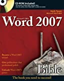 Microsoft Word 2007 Bible, Herb Tyson, 0470046899