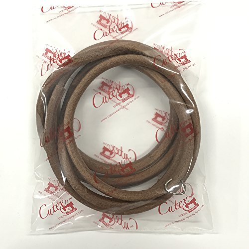 """Cutex Brand 72"""" Leather Belt For All Treadle Sewing Machines 3/8"""" Wide"""
