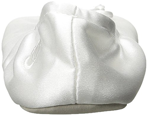 ISOTONER Womens Satin Ballerina Slipper White vlUAs