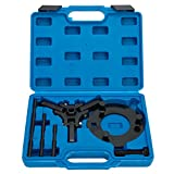 8milelake Automotive Harmonic Balance Puller Tool Set Includes 3-Jaw Puller and Holding Tool