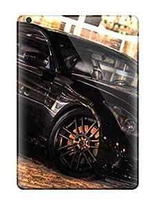 Snap-on Case Designed For Ipad Air- Metallic Black Car