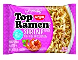 Nissin Top Ramen, Shrimp, 3 Ounce (Pack of 24)
