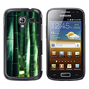 LECELL--Funda protectora / Cubierta / Piel For Samsung Galaxy Ace 2 I8160 Ace II X S7560M -- Forest Nature China Sunshine --