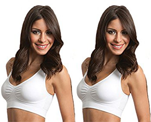 b962c88746993 Genie Bra Womens Twin Pack (X-Large