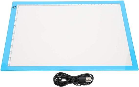 A4ライトボックストレースライトパッドLED描画ボード、描画タブレットグラフィックス描画タブレットLEDライトボード、アーティスト向けアニメーションステンシル