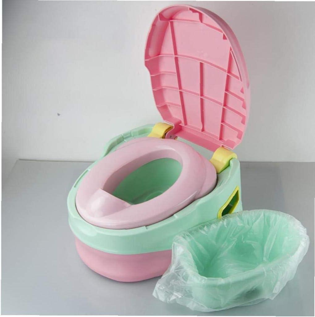 Desechables Replaceablepotty Liners viajes Potty forros para sillas con el entrenamiento con cord/ón universal WC inodoro infantil Bolsas de limpieza Bolsa para los ni/ños 100pcs