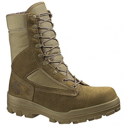 - Mens Bates DuraShocks Steel-Toe USMC Hot Weather Boot Tan, TAN, 11.5M(D)