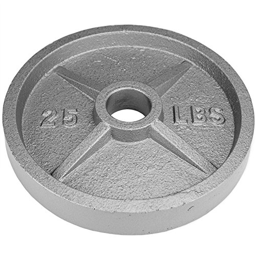 Crown Sporting Goods 2 inch Olympic Style Iron Weight Plate