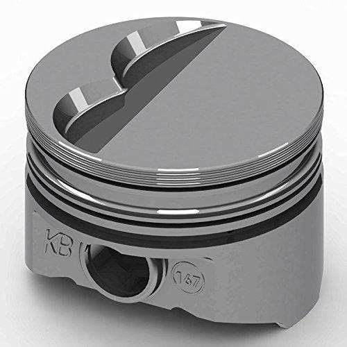KB Performance Pistons KB167.030 +5cc Flat Top Piston Set for Small Block Mopar