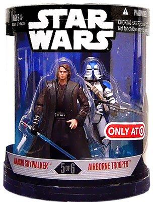 Star Wars Order 66 Exclusive 2 Pack 5 of 6 Anakin Skywalker Airborne Trooper - Exclusive Two Pack