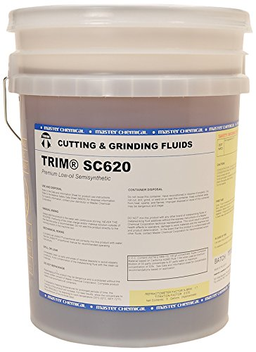 TRIM Cutting & Grinding Fluids SC620/5 Premium Low Oil Semisynthetic, 5 gal Pail by TRIM