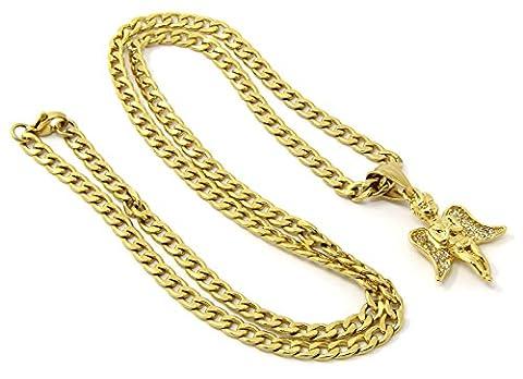 Mens Mini Gold Stainless Steel 24