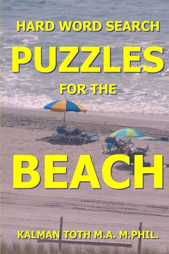 Hard Word Search Puzzles For The Beach