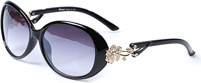 LianSan Designer Womens Oversized Sunglasses Fashion with Crystals GD103