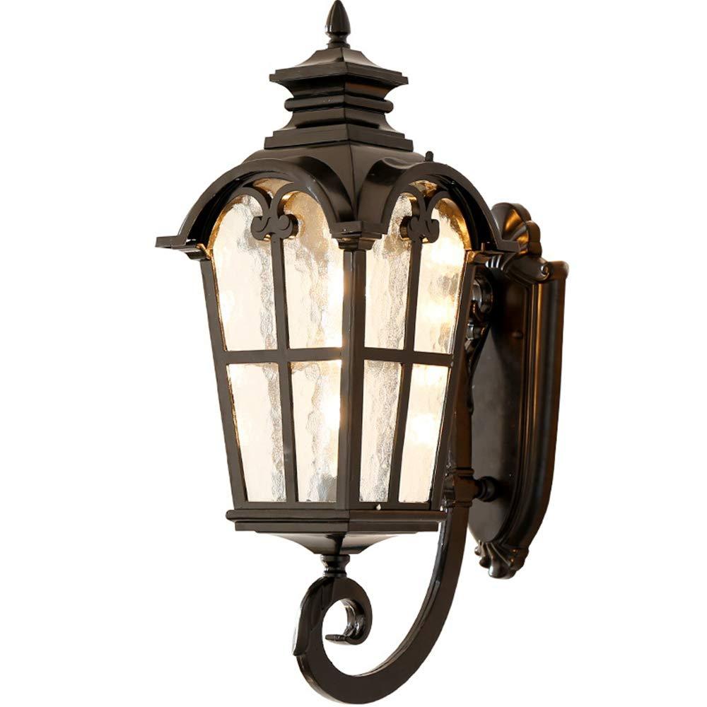 LEDウォールランプ、屋外のガーデンランプ、室内装飾の照明、IP65防水、ヴィラのバルコニーの廊下に適しています、110-240V、9W暖かい光 B07SQZY8S9