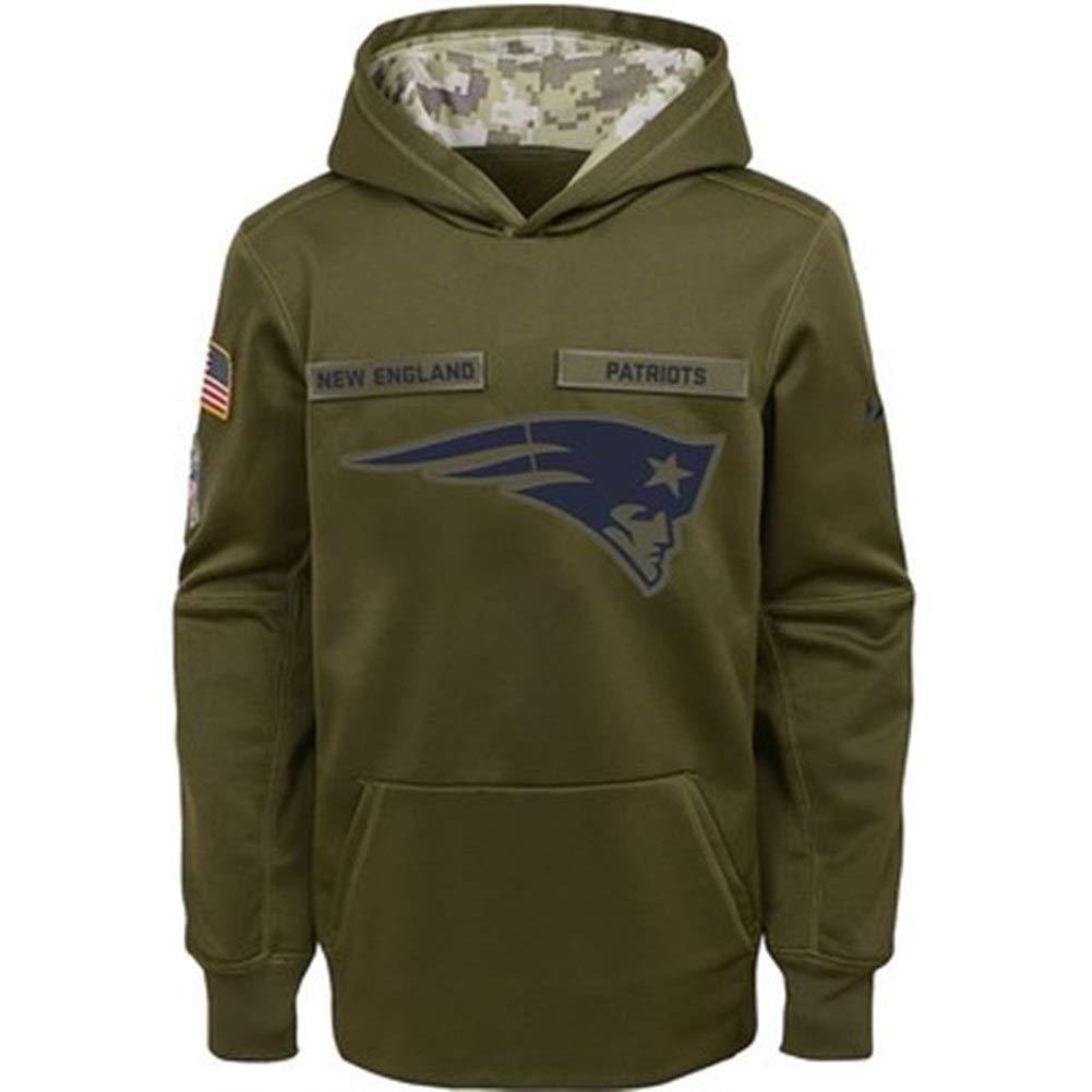 CHERSH New England Patriots NFL Patriots Chaqueta Deportiva for Hombre Su/éter Verde Almirante Ropa de Baloncesto