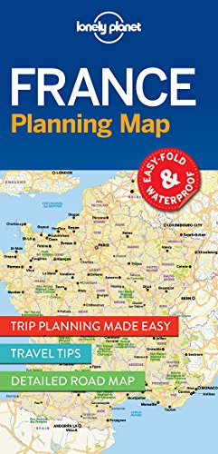 (Lonely Planet France Planning Map)