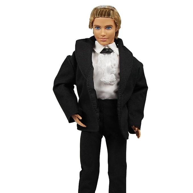 Amazon.es: Barwa - Traje de Esmoquin para muñeca Ken de 3 Piezas ...