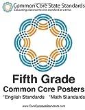 Fifth Grade Common Core Posters, CoreCommonStandards Staff, 1479118389