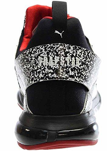 Puma Cel Whitenoice X Trapstar Ronde Neus Synthetische Sneakers Zwart