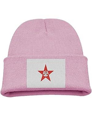 Louisiana Flag Kid's Hats Winter Funny Soft Knit Beanie Cap Children Unisex