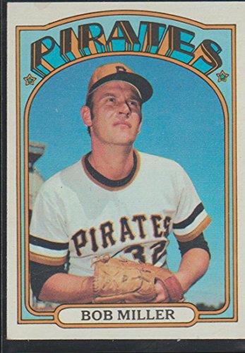 1972 Topps Bob Miller Pirates Baseball Card #414