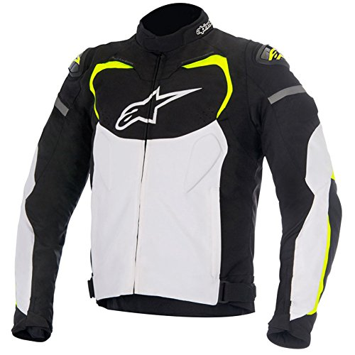 Alpinestars T-GP Pro Mens Textile Motorcycle Jackets - Black/White/Yellow - 3X-Large