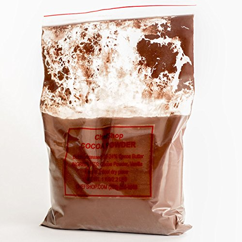 (3) 1 Kilo bags of Dutch Processed ChefShop Cocoa Powder (Formerly know as