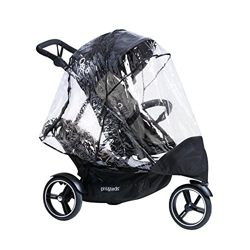 - phil&teds Storm Cover for Dot Stroller, Single or Double