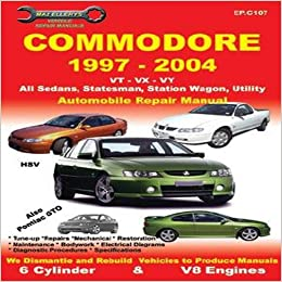 Vt Commodore Workshop Manual Pdf