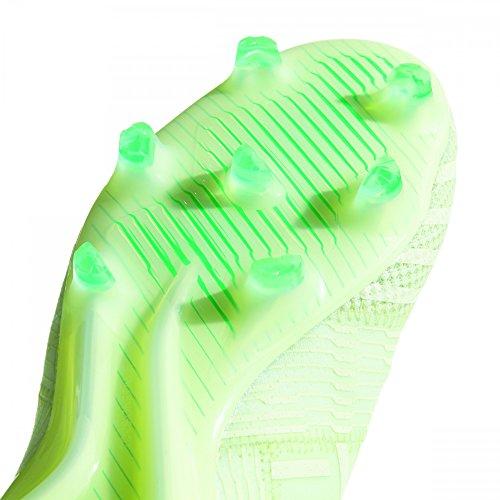 Adidas Mannen Nemeziz 17.1 Fg Voetbal Schoenen, Wit / Zwart, 43 1/3 Eu Groen (aergrn / Aergrn / Hiregr Aergrn / Aergrn / Hiregr)