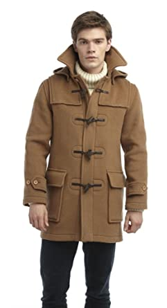 Original Montgomery Men's London Duffle Coat at Amazon Men's ...