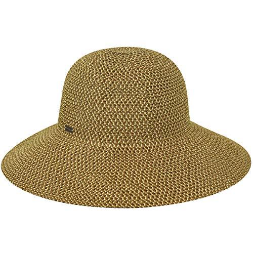 Betmar Women's Gossamer Sun Hat, Natural, One Size ()
