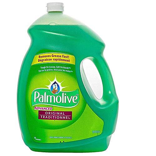 Palmolive Advanced Original Thick Dishwashing Liquid, 1.32 Gallon, 168 Fl. Oz - Tough on Grease, Soft on Hands