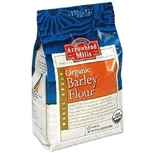 Amazon.com : Arrowhead Mills Organic Barley Flour, 24