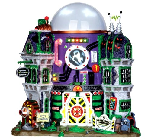 Lemax 35549 Ghost Containment Building Spooky Town Halloween Decor Lighted]()