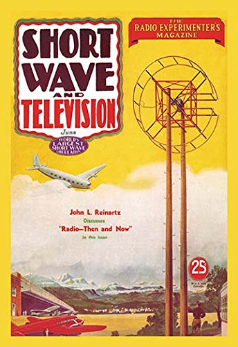 "Short Wave and Television: Radio and Airplanes Museum quality giclee print canvas wrap(20"" x 30"")"
