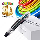 3D Doodler Pen for Kids and Adults, Professional Grade 4th Gen Doodling Kit, 1000 Refills No-Stoppage Guarantee, Comes with 1.75mm Filament Refills