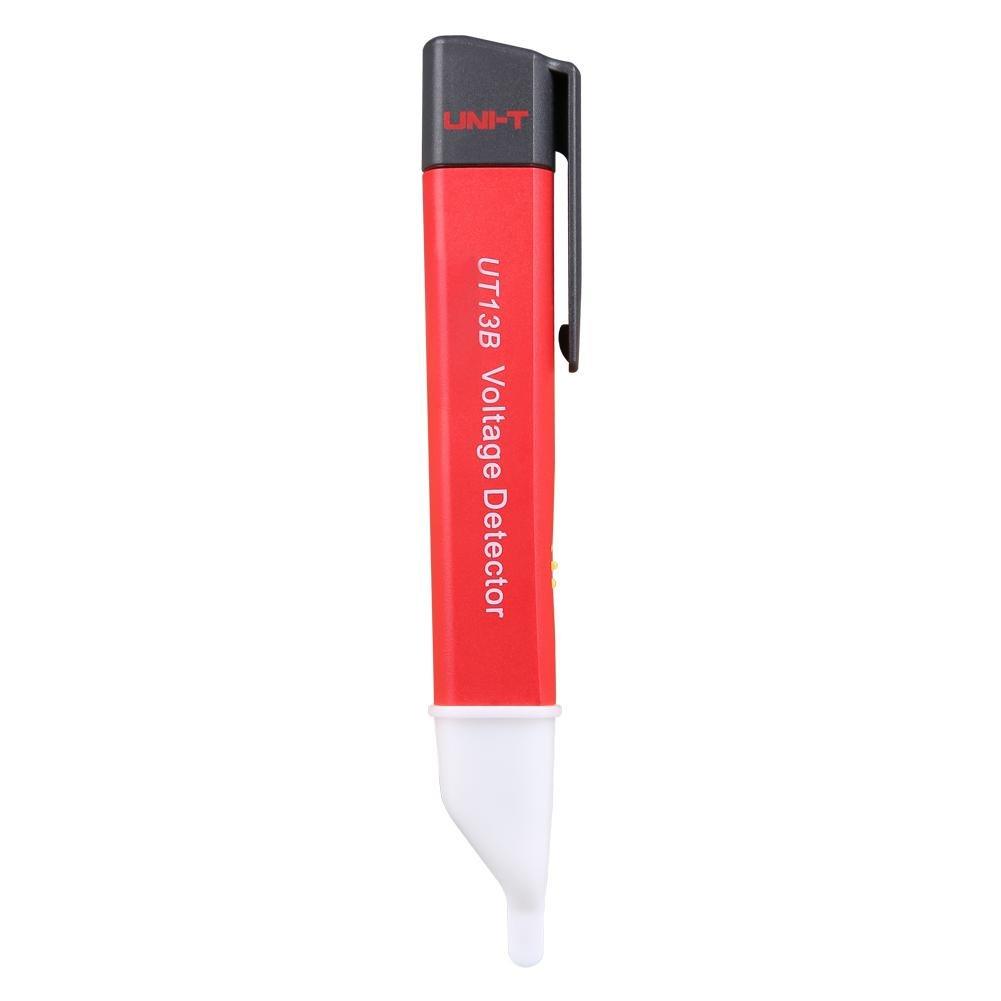 1 PCS Red UNI-T UT13A / UT13B Voltage Tester Pen Adjustable Sensitivity Volt Detector(UT13B)