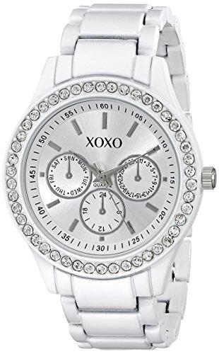 Galleon xoxo women 39 s xo5408 rhinestone accented watch for Watches xoxo