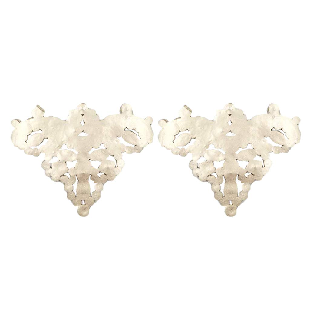 Crystal Shoe Charms Buckle Pack of 2 B Baosity Diamante Rhinestone Shoe Clips Removable Shoe Decoration
