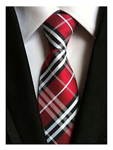 Black Jacquard Silk Tie - 9