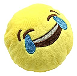 YINGGG Mini Emoji Cushion Pillow, Set of 8 (Style 2)