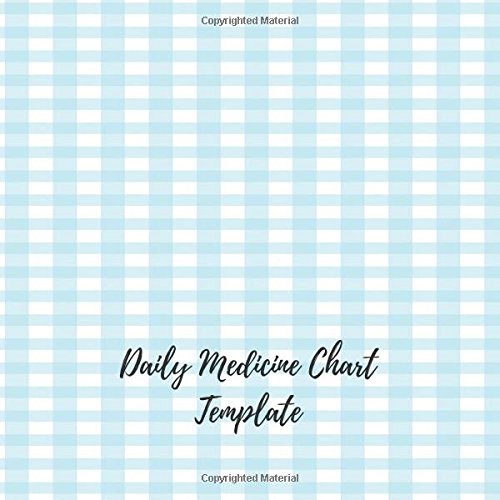 Buy Daily Medicine Chart Template Undated Personal Medication